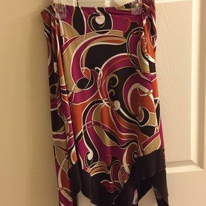 Brown/pink Skirts size XL juniors
